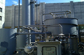 LC-NJ series viscose fiber (cellophane) exhaust gas purification and recovery system